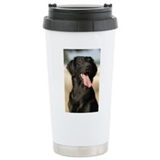 flat coated retriever Travel Mug