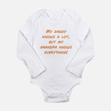 Grandpa Knows Everything Body Suit