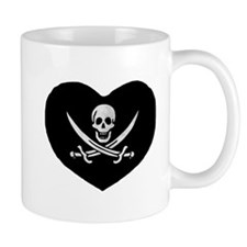 Pirate Heart Mug