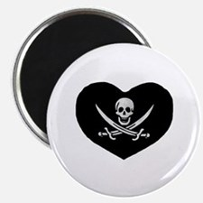 Pirate Heart Magnet