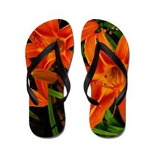 Tiger Lilly Patch Flip Flops