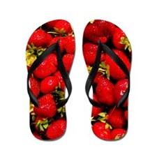 Strawberries Flip Flops