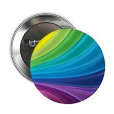 "Rainbow Delight 2.25"" Button"