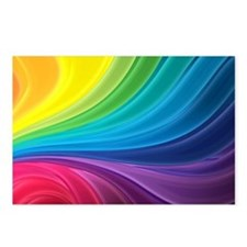 Rainbow Delight Postcards (Package of 8)