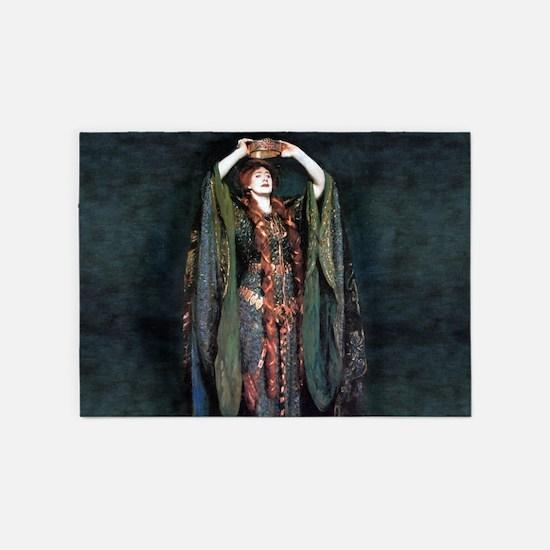 Ellen Terry - Lady Macbeth 5'x7'Area Rug