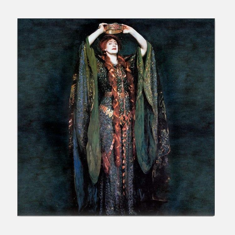 Ellen Terry - Lady Macbeth Tile Coaster