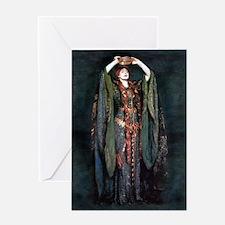 Ellen Terry - Lady Macbeth Greeting Cards
