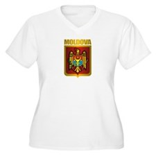 Moldova Gold Plus Size T-Shirt
