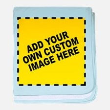 Add Your Own Custom Image baby blanket