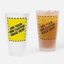 Add Your Own Custom Image Drinking Glass