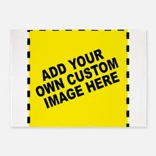 Add Your Own Custom Image 5'x7'Area Rug