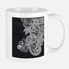 Black and White Decorative Mugs