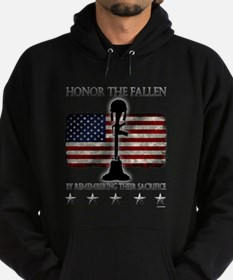 Honor The Fallen Hoodie (dark)