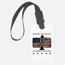 Honor The Fallen Luggage Tag