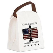 Honor The Fallen Canvas Lunch Bag