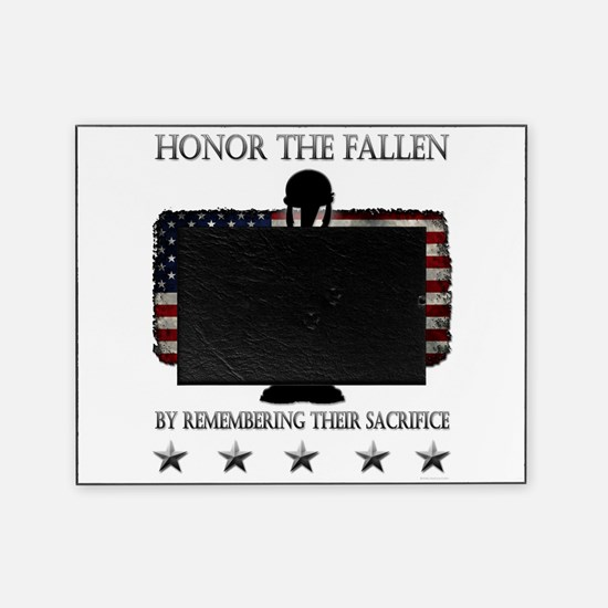 Honor The Fallen Picture Frame