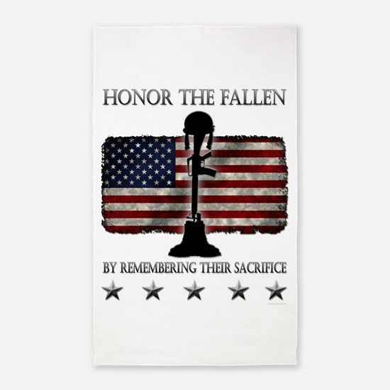 Honor The Fallen 3'x5' Area Rug
