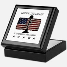 Honor The Fallen Keepsake Box