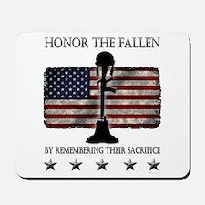 Honor The Fallen Mousepad