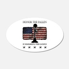 Honor The Fallen Decal Wall Sticker