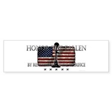 Honor The Fallen Bumper Sticker