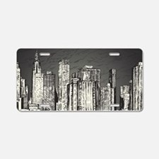 New York City Aluminum License Plate
