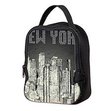 New York City Neoprene Lunch Bag