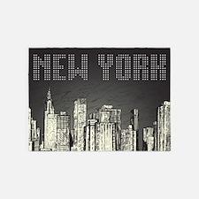 New York City 5'x7'Area Rug