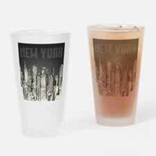 New York City Drinking Glass