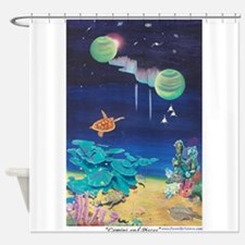 Gemini and Pisces a shirt.tif Shower Curtain