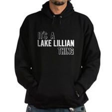 Its A Lake Lillian Thing Hoodie