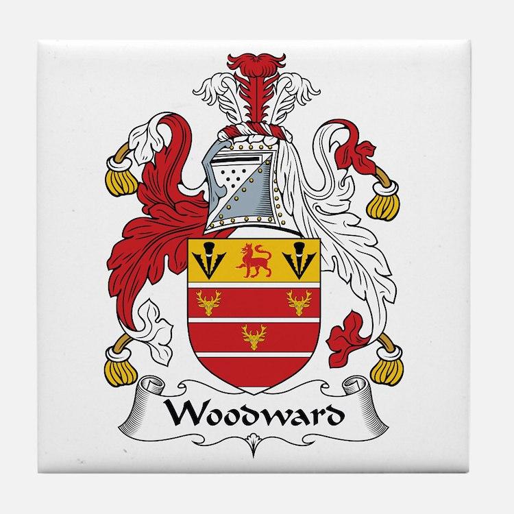 Woodward Tile Coaster