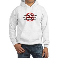 Pick Up Cigarette Butts Hoodie