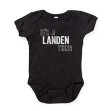 Its A Landen Thing Baby Bodysuit