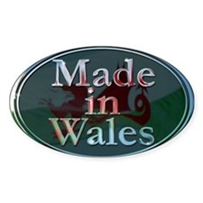Made In Wales Decal