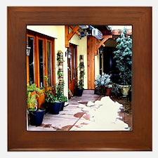 Shop Courtyard Framed Tile