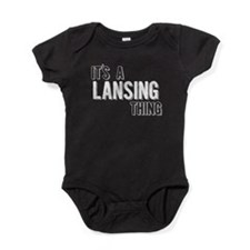 Its A Lansing Thing Baby Bodysuit