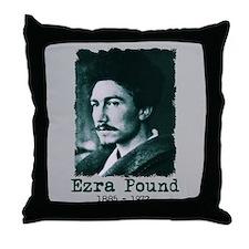 Ezra Pound Throw Pillow