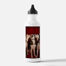 Kissing Huskies Water Bottle