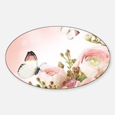 Flowers and Butterflies Decal