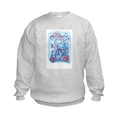 Albuquerque Mini Maker Faire Custom Art Sweatshirt