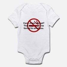 Can't Chew Instead? Infant Bodysuit
