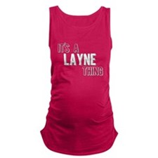 Its A Layne Thing Maternity Tank Top