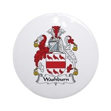 Washburn Ornament (Round)