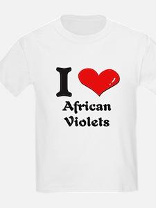 I love african violets T-Shirt
