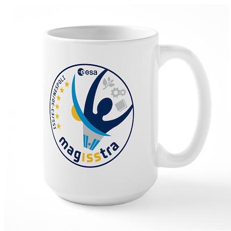 MagISStra ESA ISS Mission Large Mug