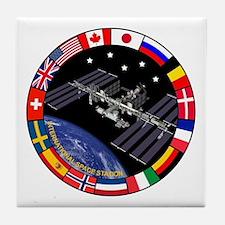 ISS Program Composite Tile Coaster