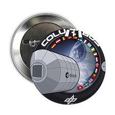 "Columbus Module ISS 2.25"" Button"