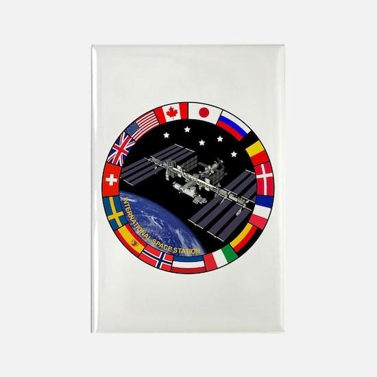ISS Program Composite Rectangle Magnet