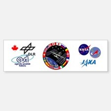 ISS Program Composite Bumper Bumper Sticker